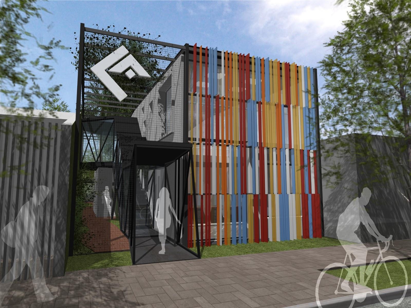 Cordova estevez arquitectos concurso colegio de for Parasoles arquitectura