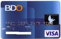 Bdo credit card online application