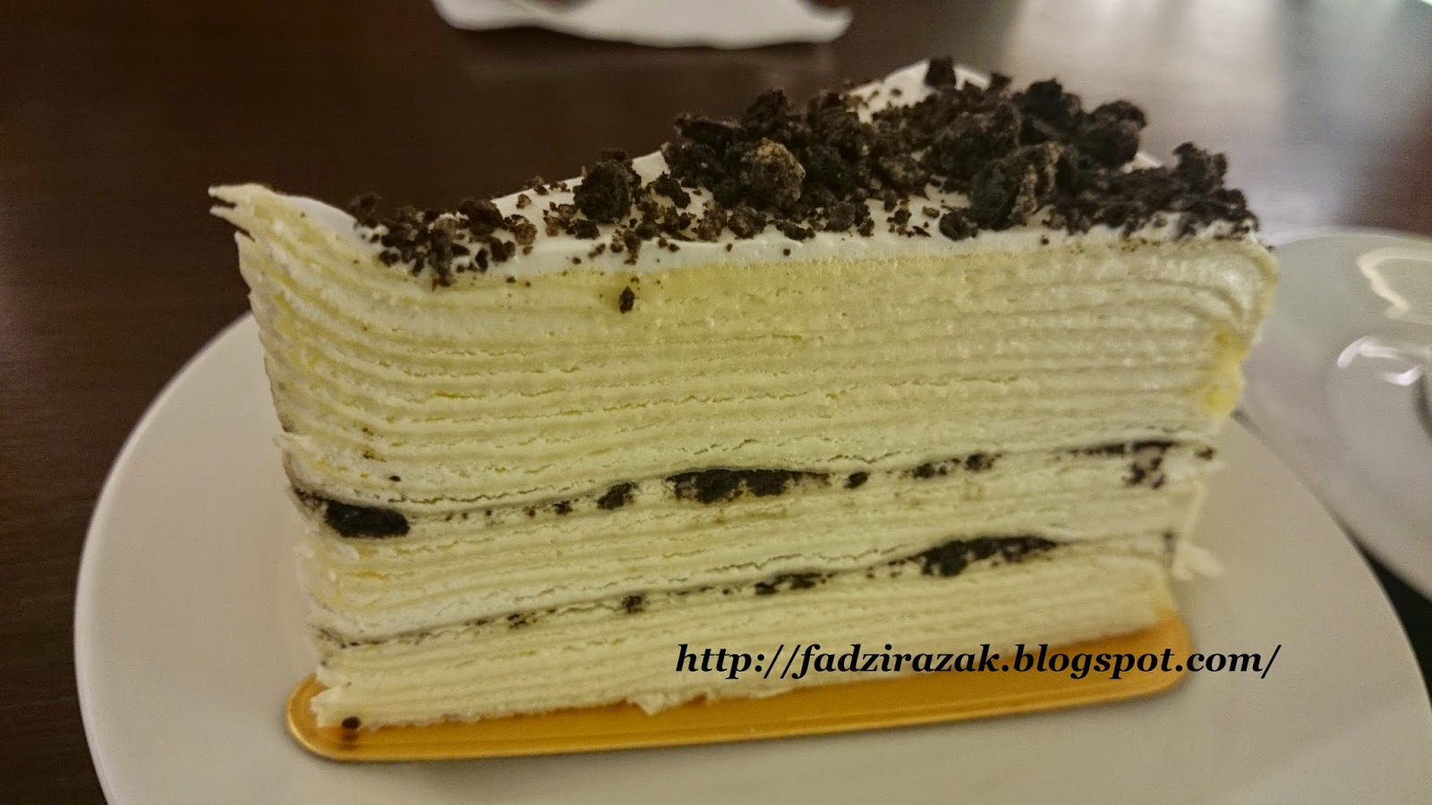 Oreo Mille Crepe Tokyo Pastry
