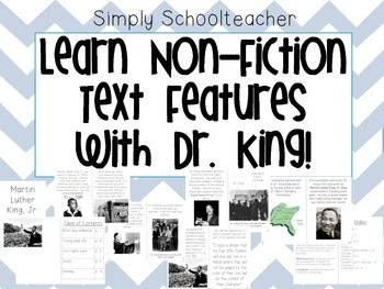 https://www.teacherspayteachers.com/Product/Non-Fiction-Text-Features-MLK-freebie-1048412