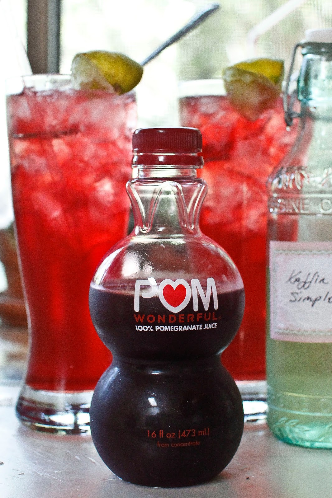 Non Alcoholic Pomegranate Cocktail