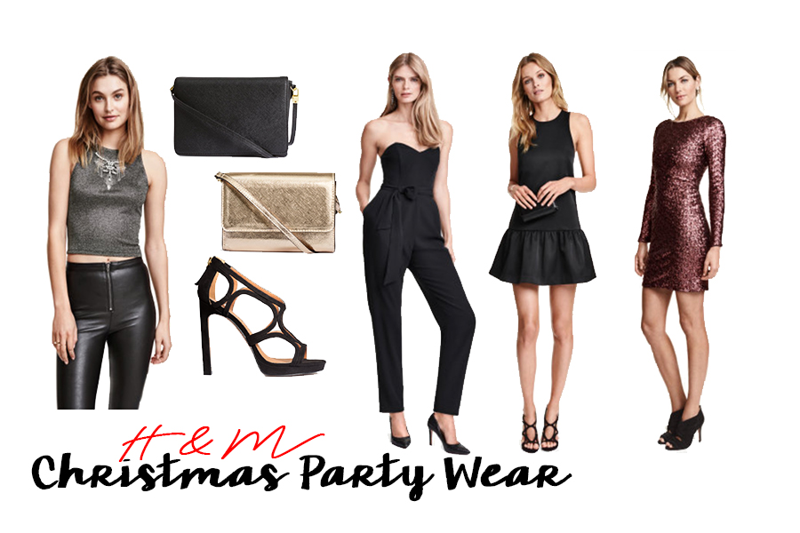 h&m christmas party wear