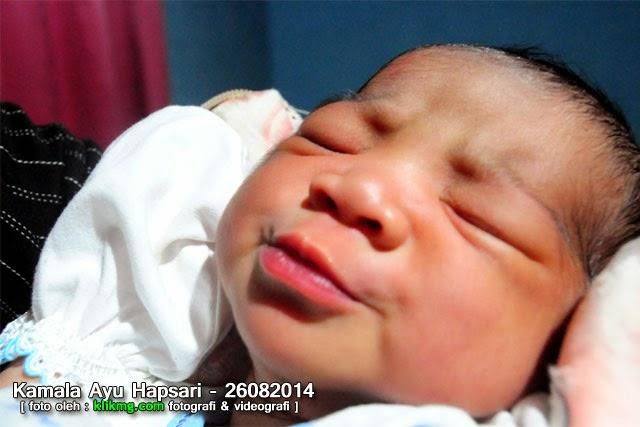 Selamat Atas Kelahiran Putri Pertamanya : Edi & Retno - 26 Agustus 2014, Kami memberinya Nama : Kamala Ayu Hapsari