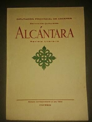ALCÁNTARA - Revista literaria (Pinchar en foto para leer cada uno de los ejemplares de la revista )