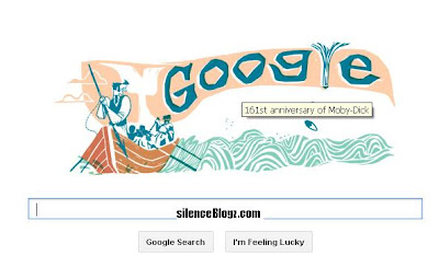 161st Anniversary Of Moby-Dick - Google Doodle