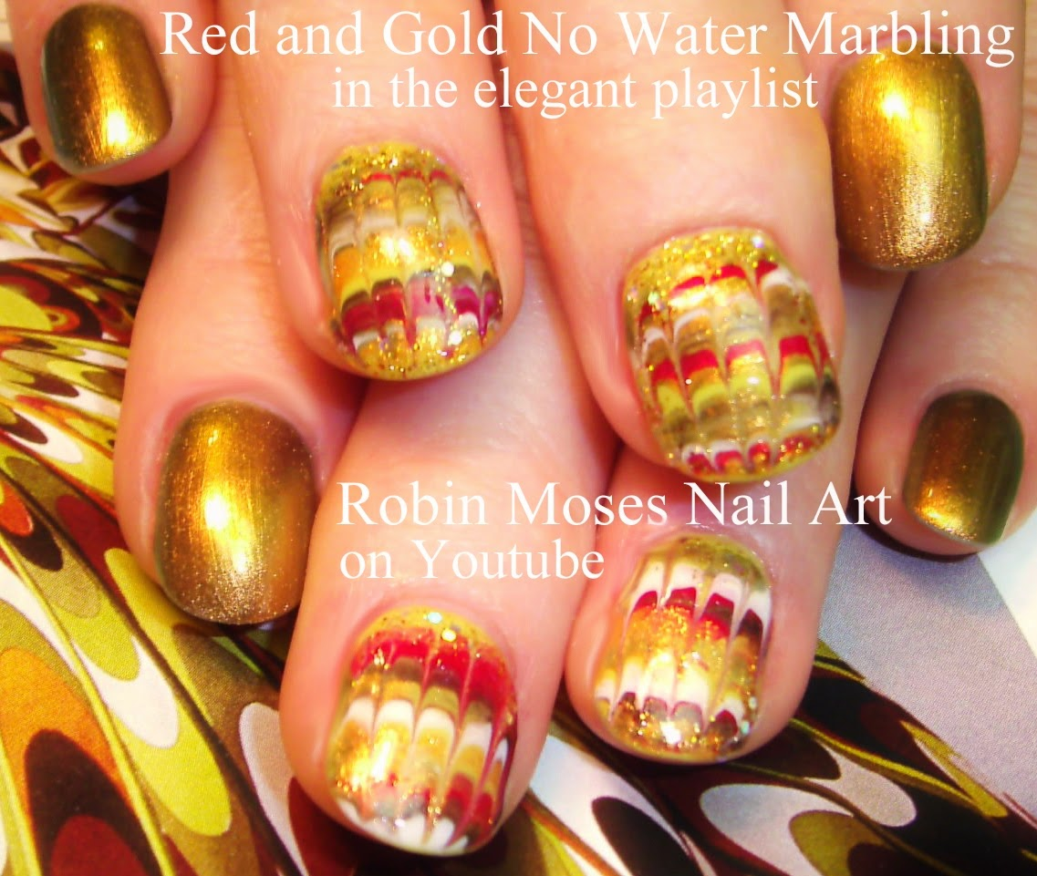 Robin Moses Nail Art Quothennaquot Quothenna Nail Artquot Quotno Water Marble