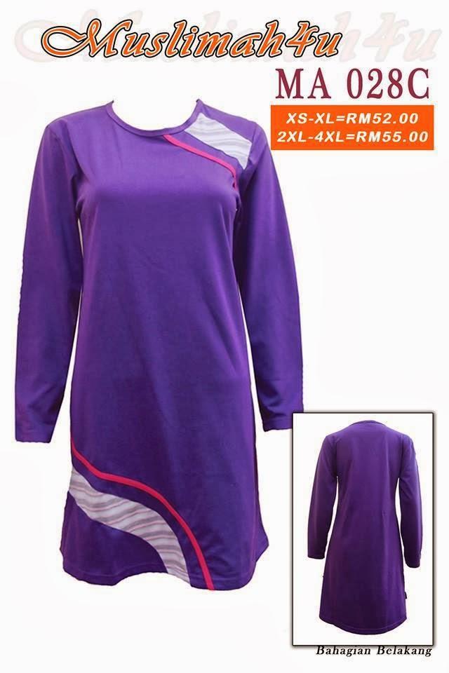 T-shirt-Muslimah4u-MA028C