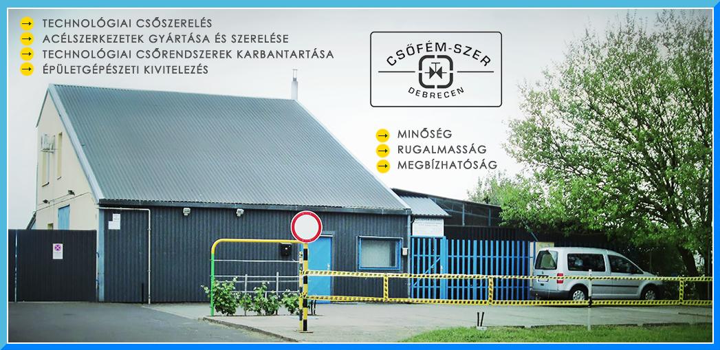CSŐFÉM-SZER Csőhálózat és Fémszerkezet Szerelő Kft.
