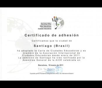 SANTIAGO, CIDADE EDUCADORA
