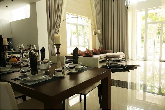 Phòng khách biệt thự Villa Park