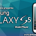 Galaxy S5 Music Player for Galaxy S4 mini