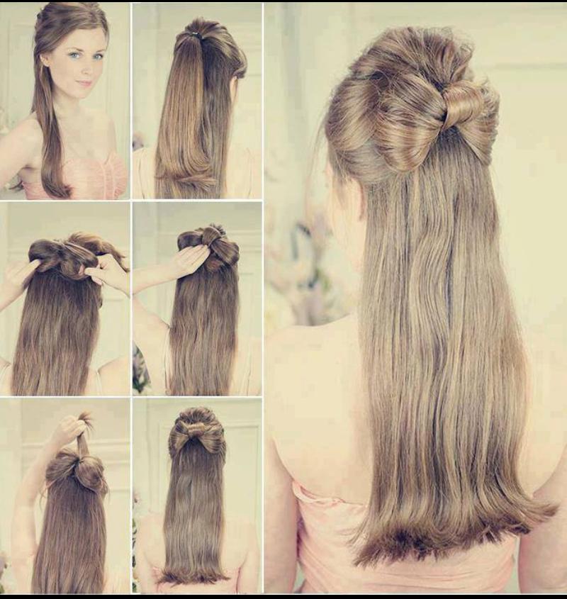 Прически с распущенным волосом пошагово