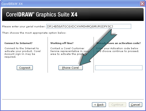 how to crack corel draw x4 activation