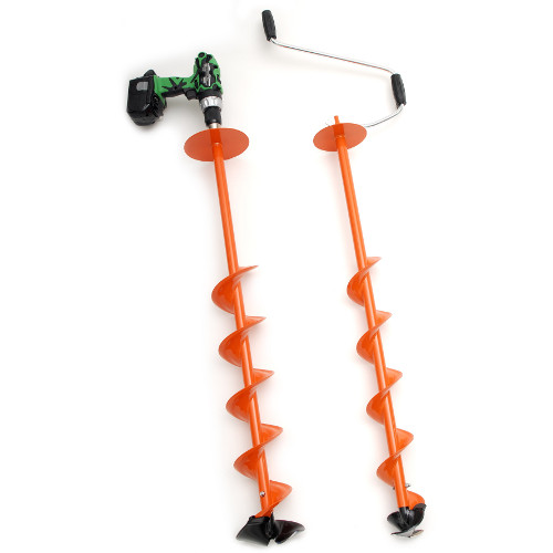 Ice Auger Drill Attachment9