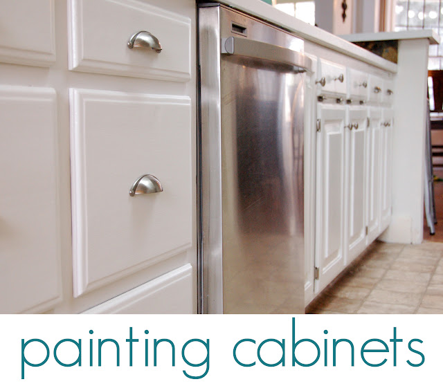 Charmant Earlier This Month I Wrote A Post About Prepping The Kitchen Cabinets For  Paint, So Feel Free To Hop Over There For A Review. Today I Want To Talk  About The ...