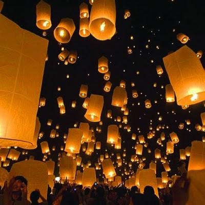 Fly away lanterns
