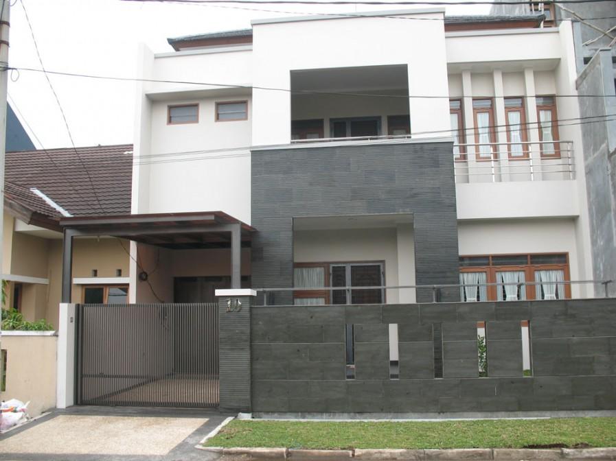 40 model pagar tembok minimalis desainrumahnya