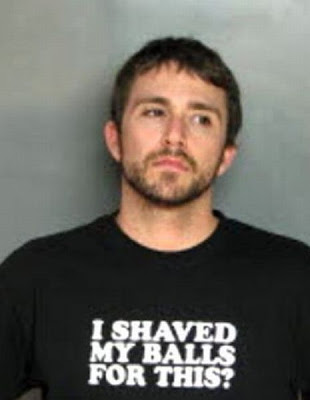 Mug Shots Of People Wearing Funny T-Shirts Seen On www.coolpicturegallery.us