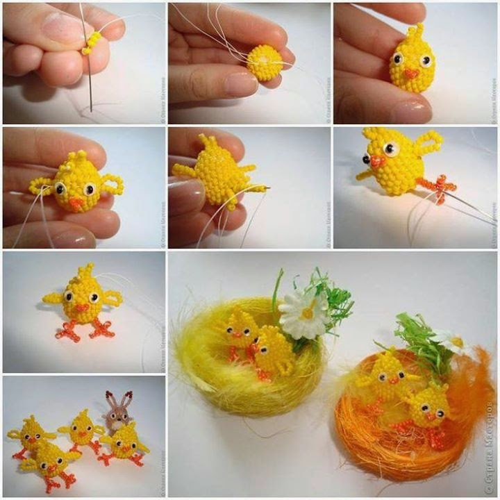 Easter Bird Step By Step Tutorial