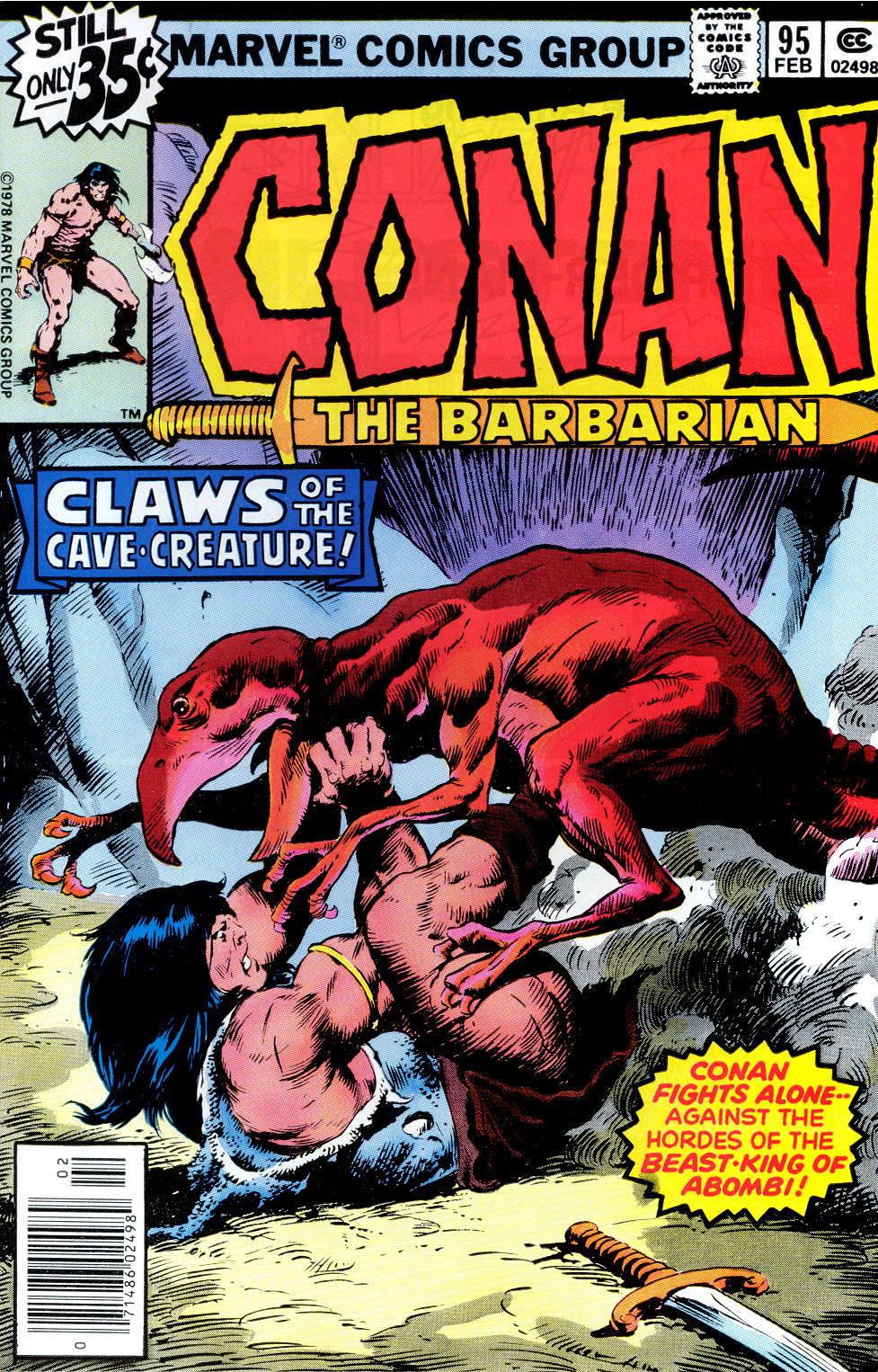 Conan the Barbarian (1970) Issue #95 #107 - English 1