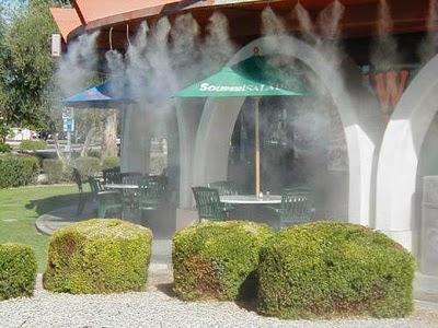 Béc, máy phun sương nhà hàng tốt nhất