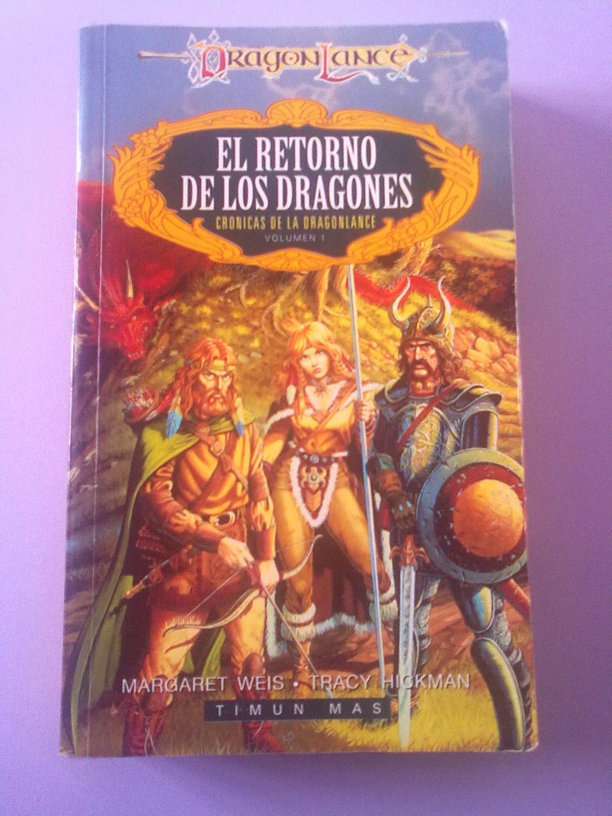 Le por primera vez el retorno de los dragones hace veinte a os recuerdo que me gust mucho y que recurr a l cansado de esas largas descripciones del