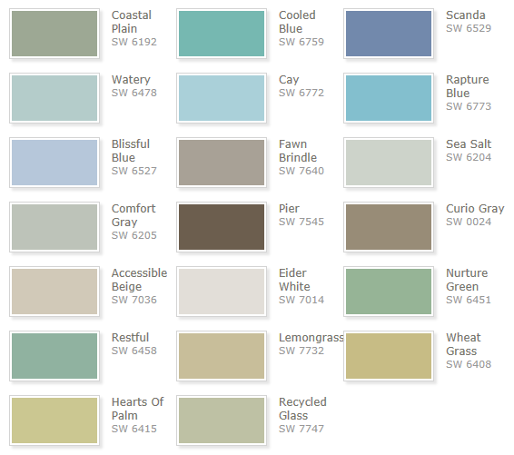 california livin home seaside paint colors you will love