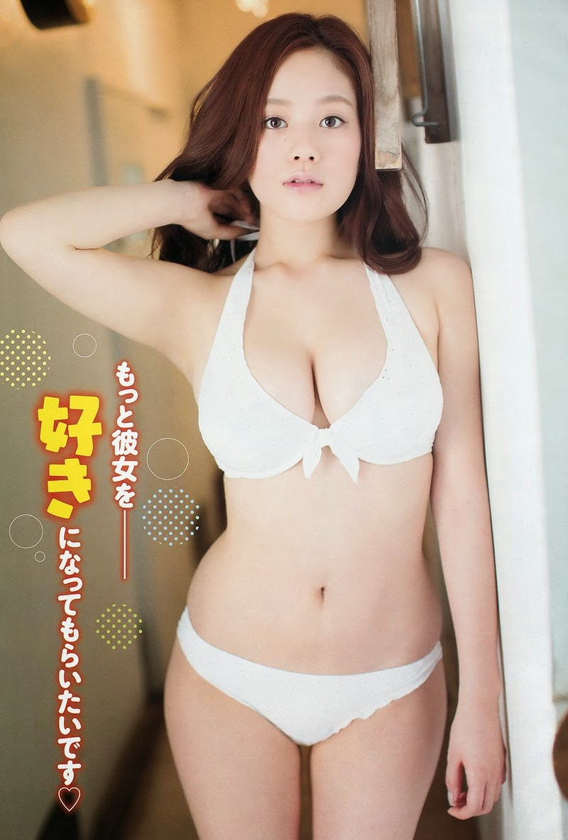Japanese Sexy Model: Hot Photos Miwako Kakei in Hot Swimwuit