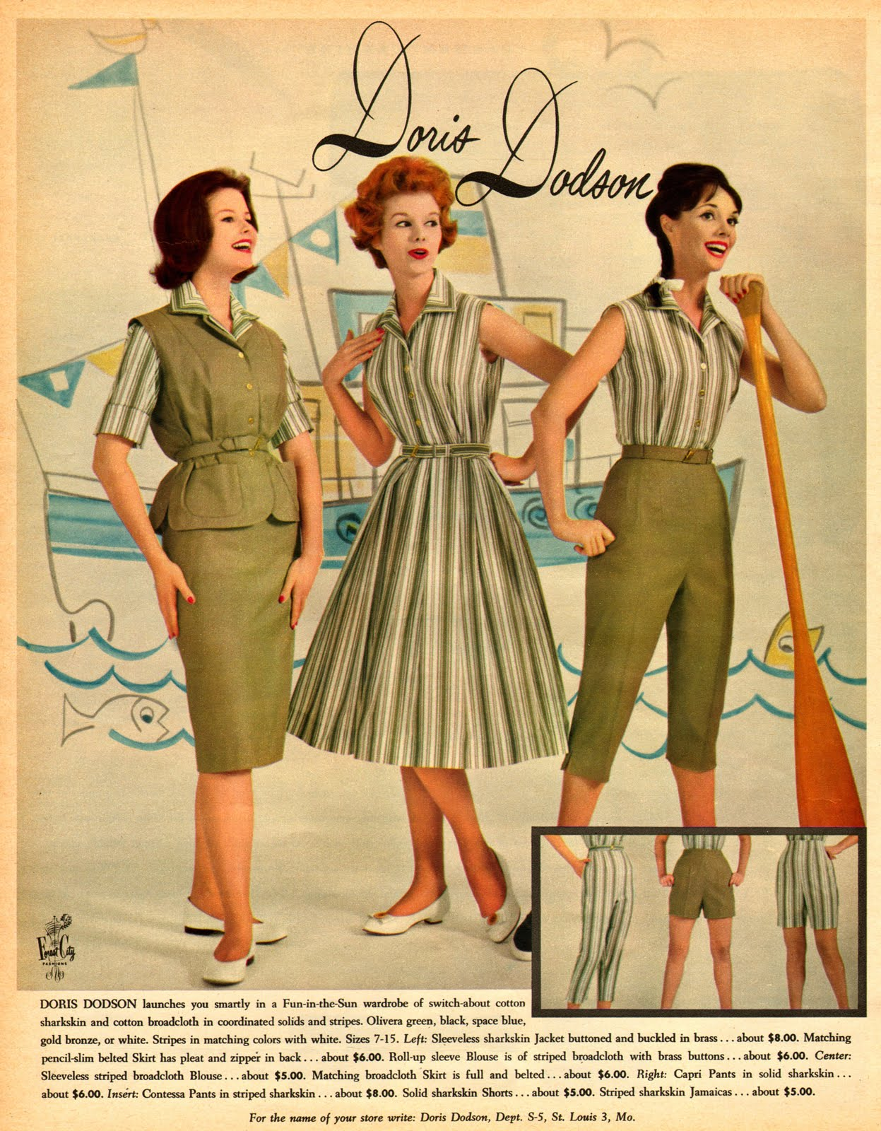 Neat Stuff Blog Fashion Advertisements 1960
