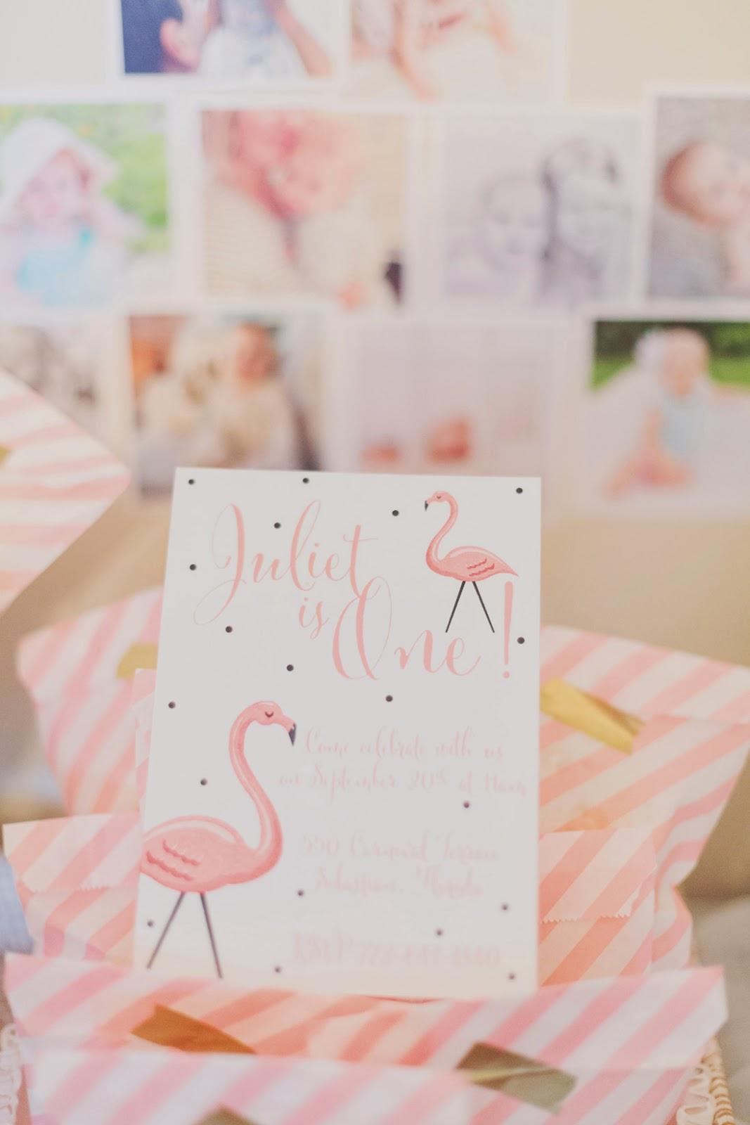 Flamingo Themed Birthday Party