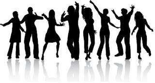 cidadão, cidadões, pulando, felizes