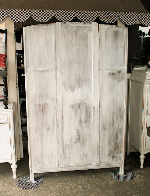 See a milk painted dresser at perfectly imperfect.