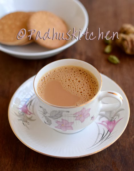 ginger cardamom tea