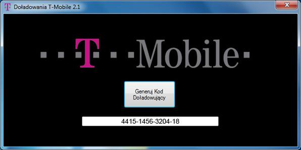 Darmowe Doładowania T-mobile