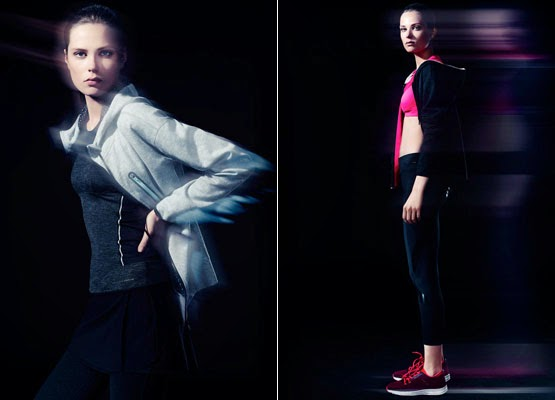 Oysho moda deportiva otoño invierno 2014 sudaderas mallas zapatillas