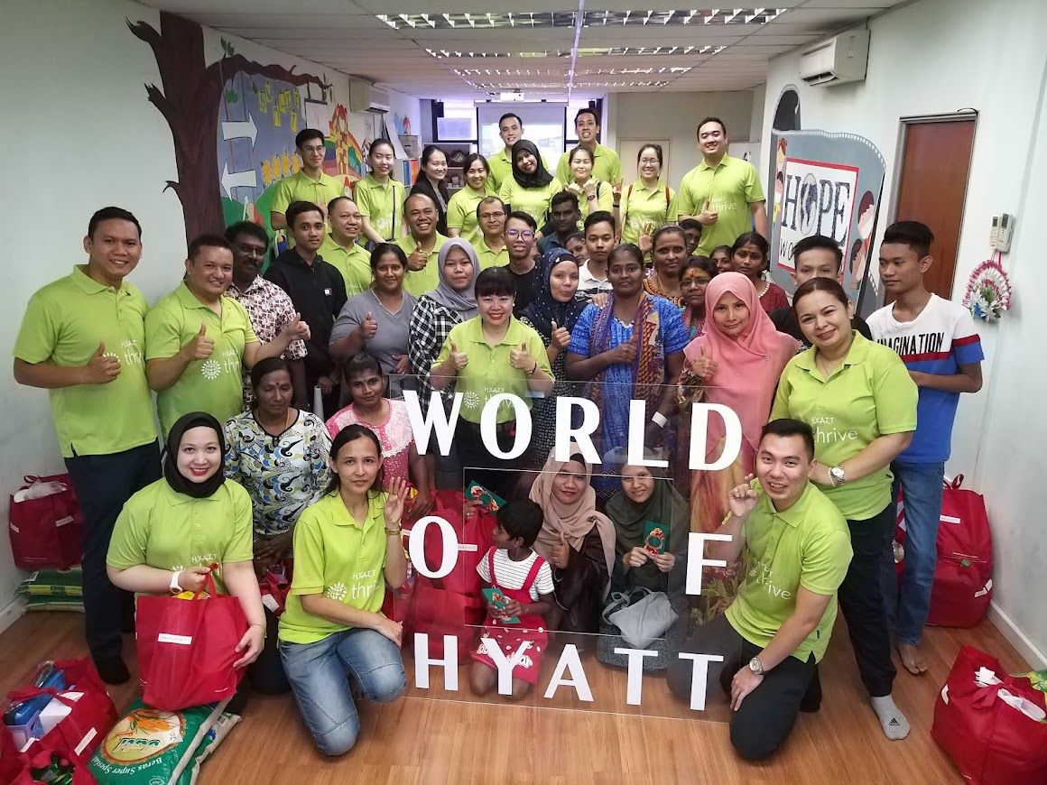 Grand Hyatt RiseHY Initiatives 2019