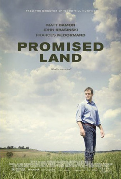 Promised Land 2012 poster