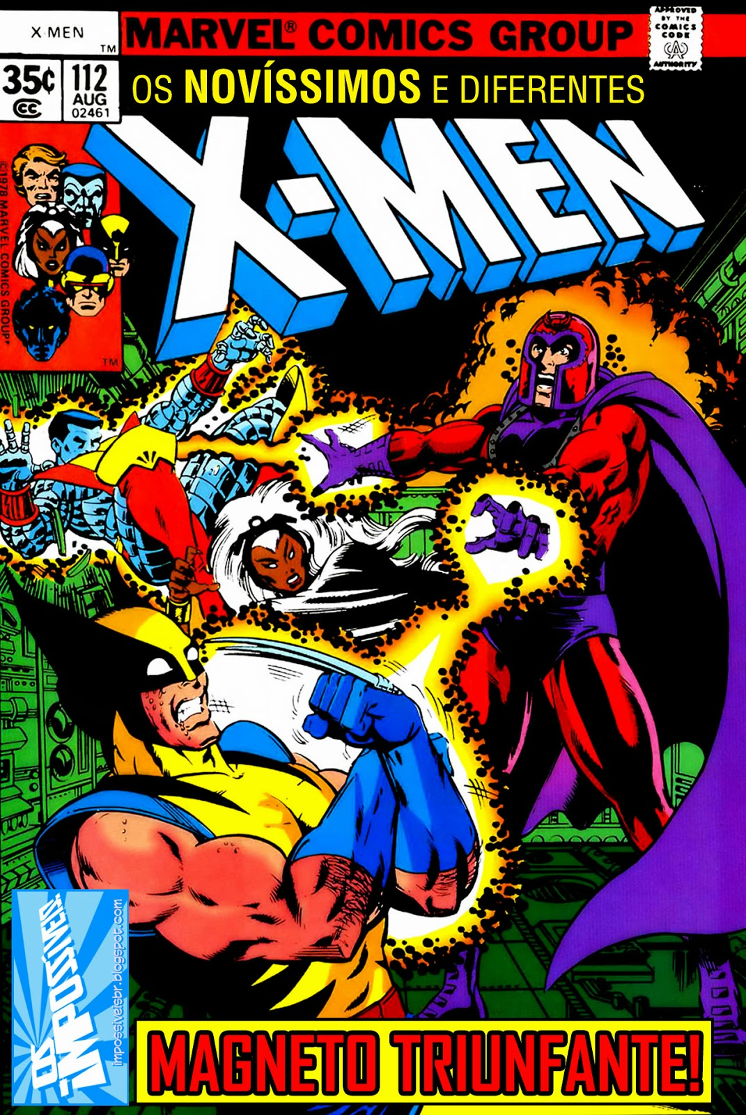 http://www.mediafire.com/download/6iarv2uy4y3q32a/Os.Fabulosos.X-Men.(X-Men.V1).112.HQBR.28OUT13.Os.Impossiveis.cbr