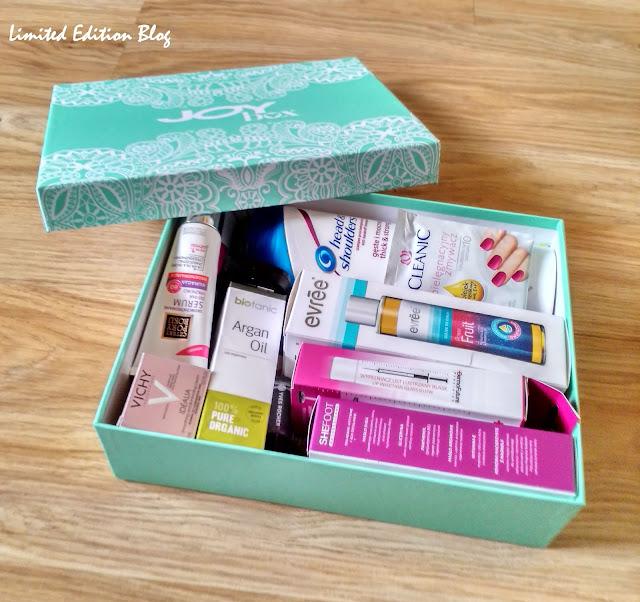 JOYbox XL WRZESIEŃ `15 - jesienne pudełko pełne kosmetycznych skarbów