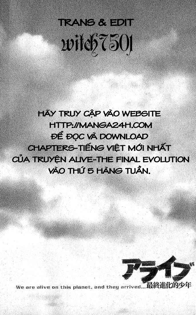 Alive - The Final Evolution chap 23 - Trang 1