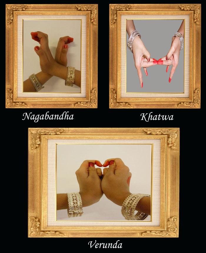 Odissi dance mudras