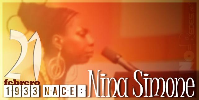 1933: Nace Nina Simone, cantante estadounidense.