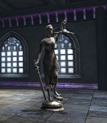 Blind Justice Statue