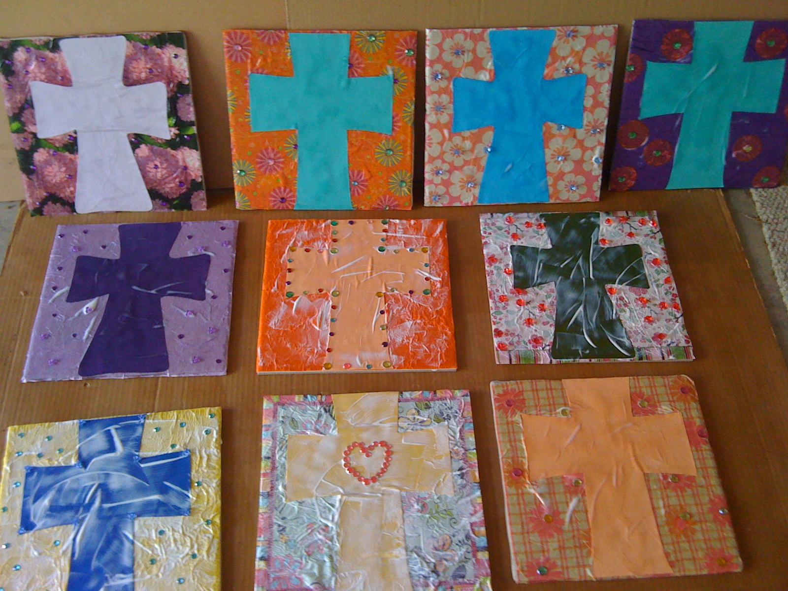 Artsy Theology Ceramic Tile Art