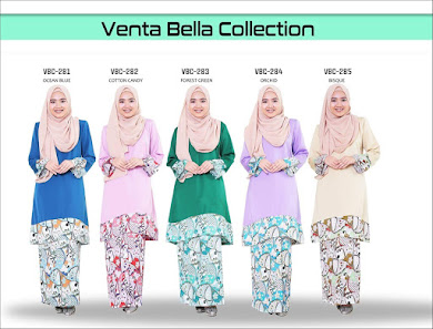 BAJU KURUNG VENTA BELLA COLLECTION