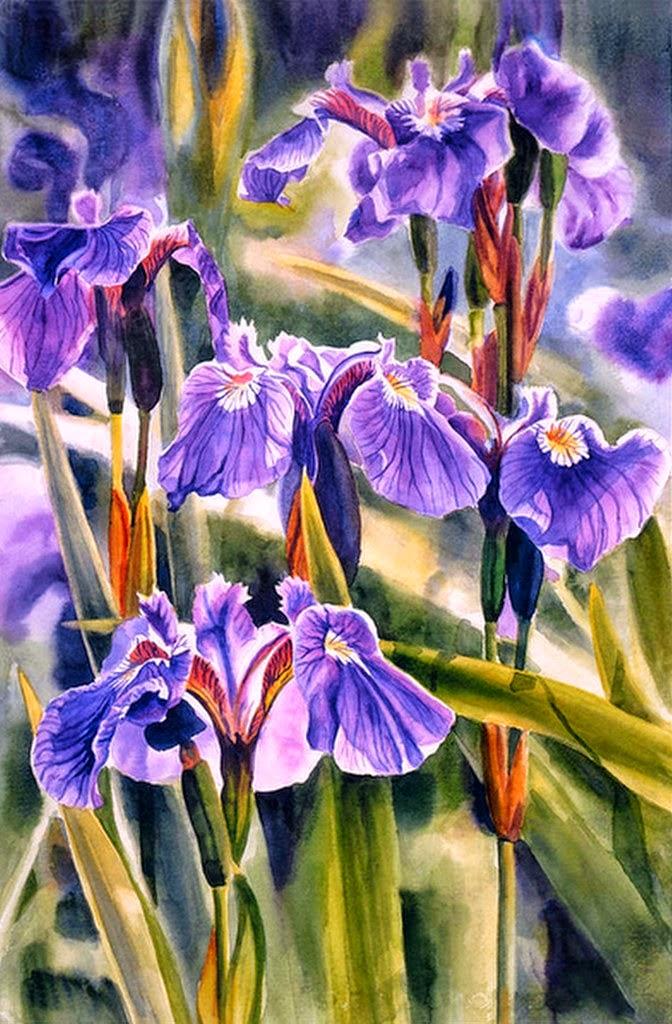 bodegones-de-flores-en-acuarela