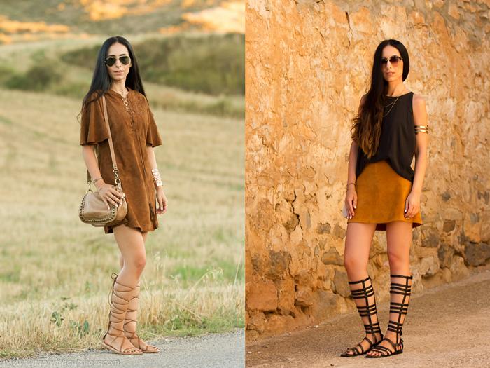 Resumen de los looks de Septiembre de la blogger de Valencia withorwithoutshoes