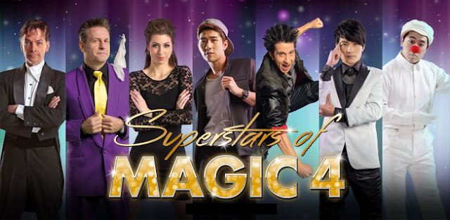 SUPERSTARS OF MAGIC 4