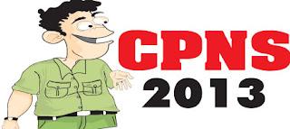 Jadwal CPNS 2013 Lengkap