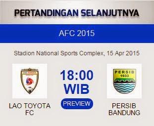 Preview Lao FC vs Persib Bandung
